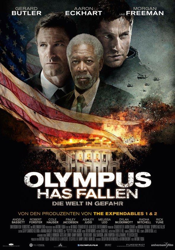 Olympus Has Fallen - Die Welt in Gefahr Poster