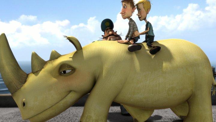 Otto ist ein Nashorn(BluRay-/DVD-Trailer) Poster