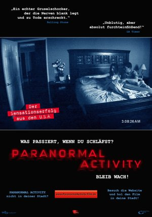 Paranormal Activity Poster