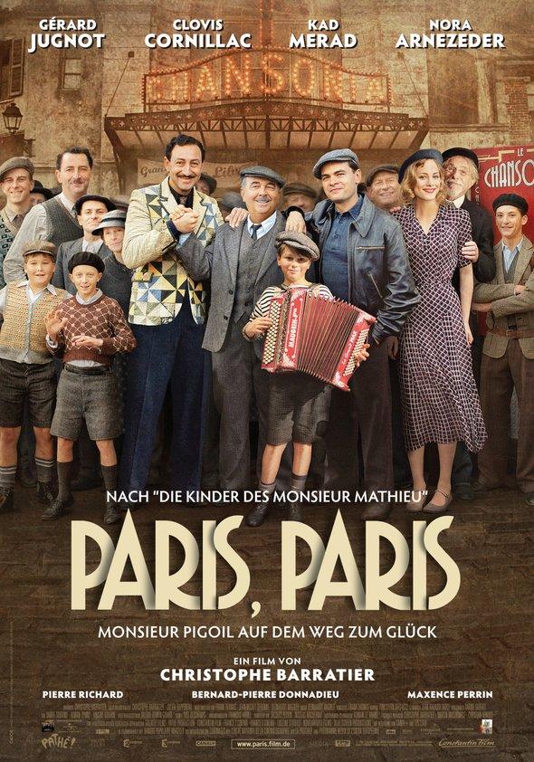 Paris, Paris - Monsieur Pigoil auf dem Weg zum Glück Poster
