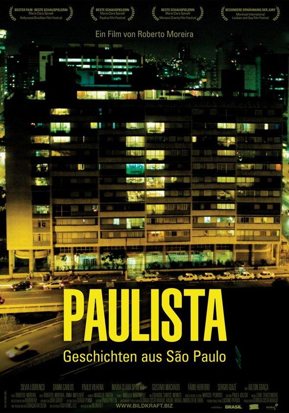 Paulista - Geschichten aus São Paulo Poster