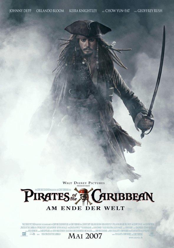 Pirates of the Caribbean - Am Ende der Welt Poster