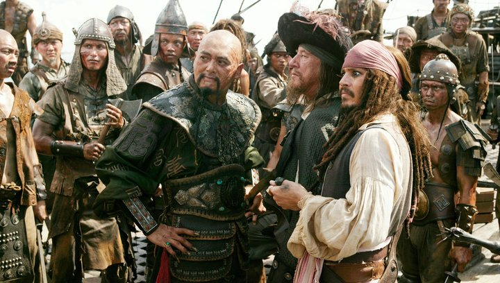 Pirates of the Caribbean - Am Ende der Welt - Trailer Poster