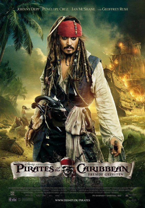 Pirates of the Caribbean - Fremde Gezeiten Poster