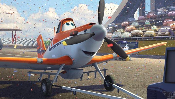 Planes (VoD-/BluRay-/DVD-Trailer) Poster