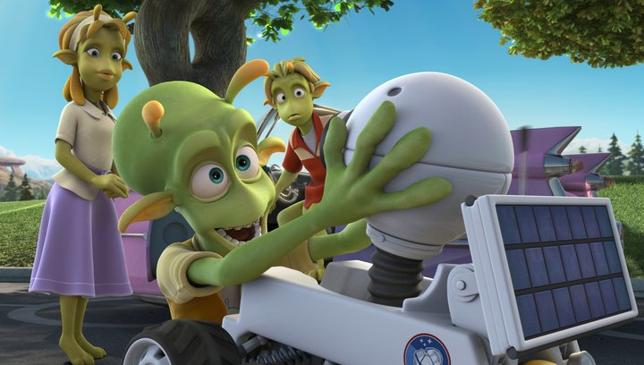 Planet 51 - Trailer Poster