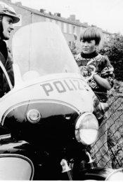 Polizeifunk ruft
