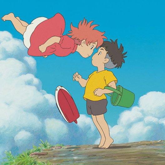Ponyo - Das große Abenteuer am Meer (DVD-Trailer) Poster