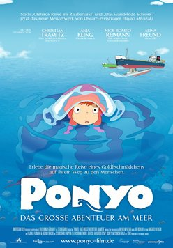 Ponyo - Das große Abenteuer am Meer Poster