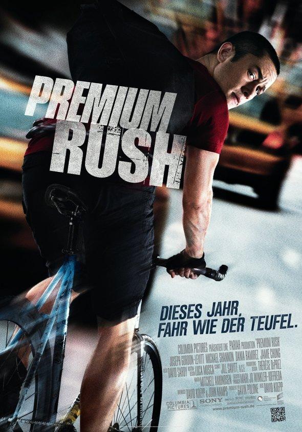 Premium Rush Poster