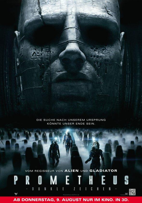 Prometheus - Dunkle Zeichen Poster