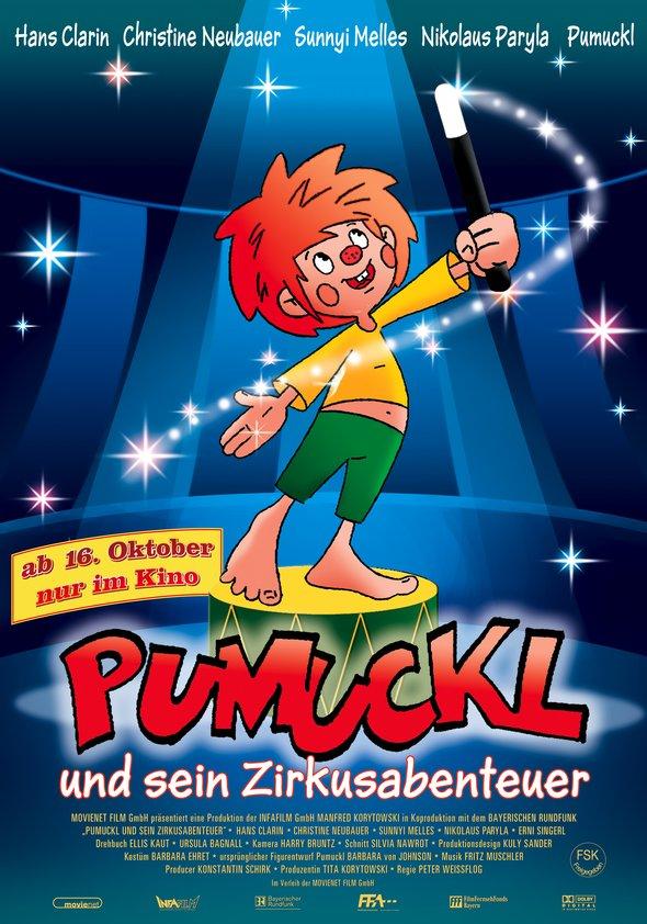 Pumuckl und sein Zirkusabenteuer Poster