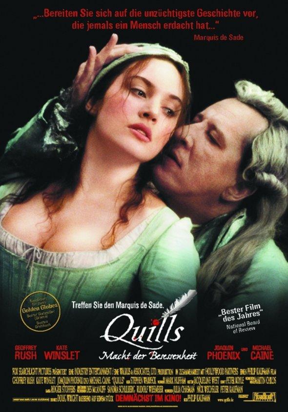 Quills - Macht der Besessenheit Poster