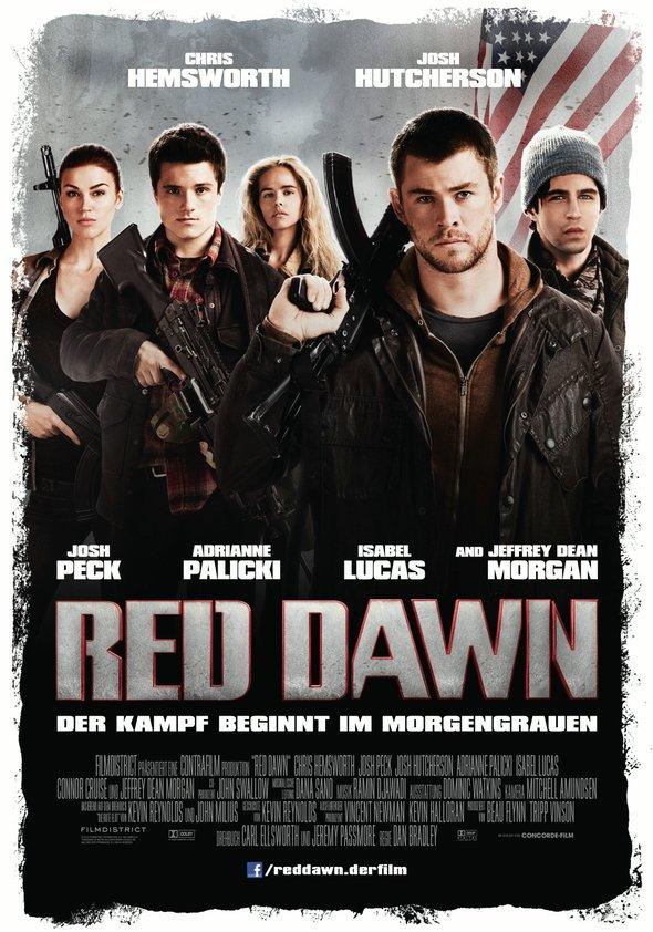 Red Dawn - Der Kampf beginnt im Morgengrauen Poster