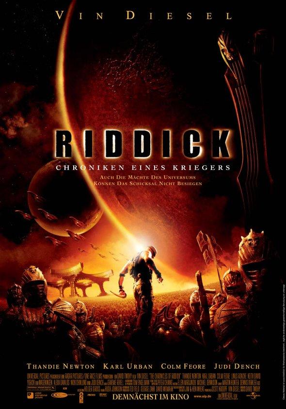 Riddick - Chroniken eines Kriegers Poster
