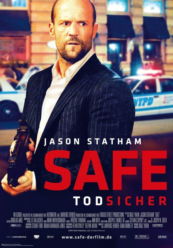 Safe - Todsicher Poster