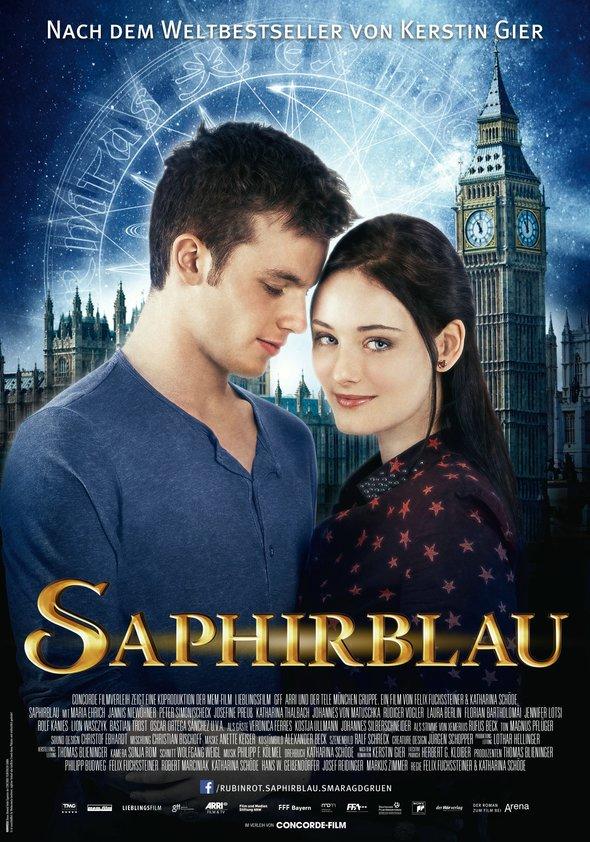Saphirblau Poster