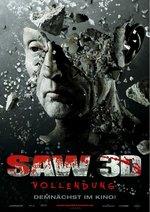 Saw 3D - Vollendung Poster