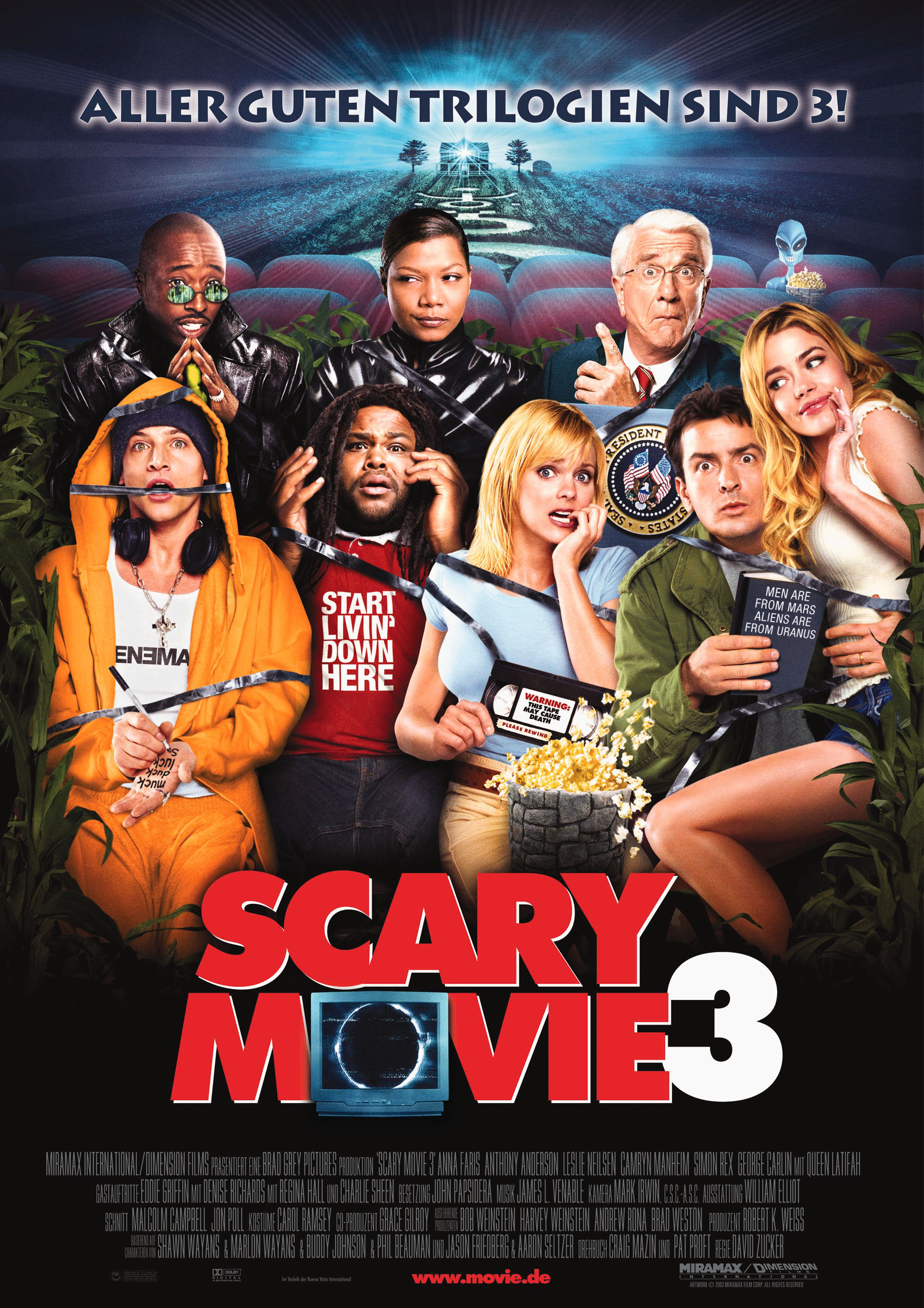 Alle Filme Mit Queen Latifah scary movie 3 film (2003) · trailer · kritik · kino.de