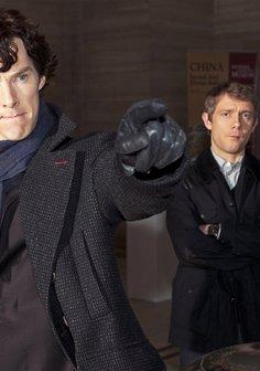 Sherlock: Der blinde Banker Poster