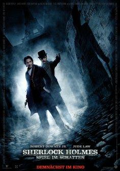 Sherlock Holmes: Spiel im Schatten Poster