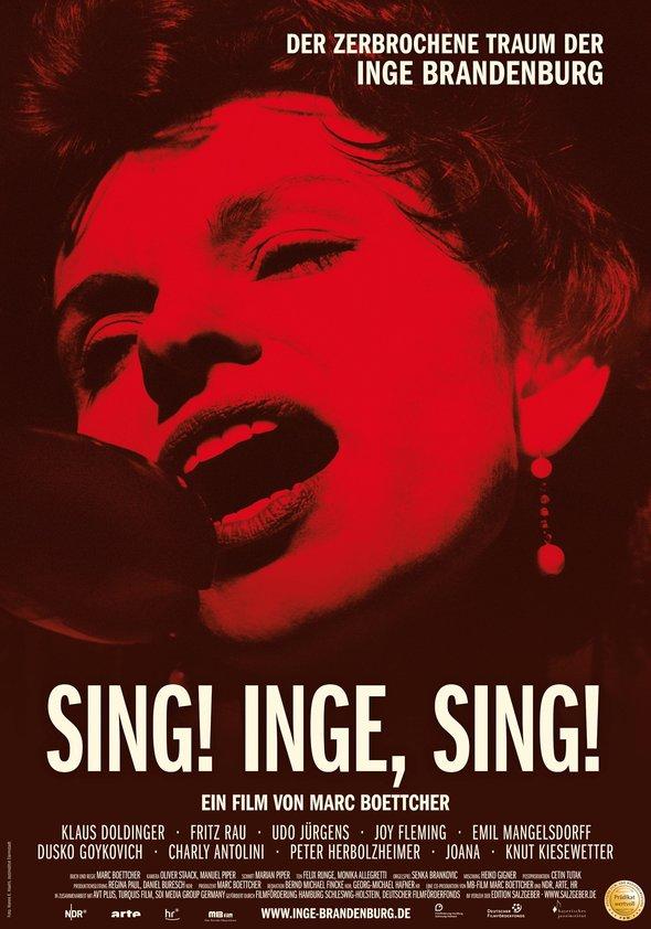 Sing! Inge, sing! - Der zerbrochene Traum der Inge Brandenburg Poster