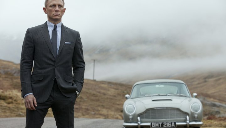 Skyfall (VoD-/BluRay-/DVD-Trailer) Poster