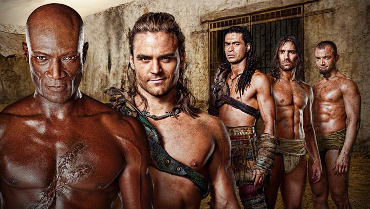 Spartacus: Gods of the Arena (BluRay-/DVD-Trailer) Poster
