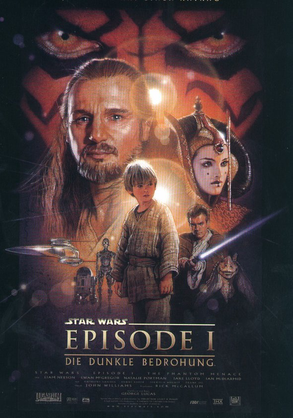 Star Wars: Episode 1 - Die dunkle Bedrohung Poster