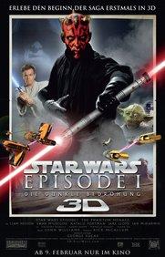 Star Wars: Episode I - Die dunkle Bedrohung 3D Poster