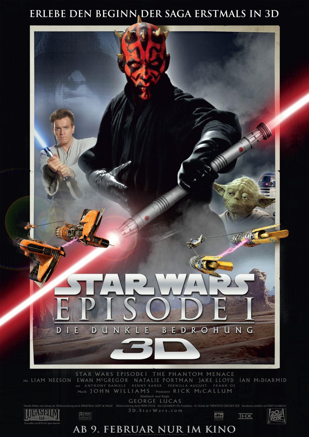 Star Wars: Episode I - Die dunkle Bedrohung 3D