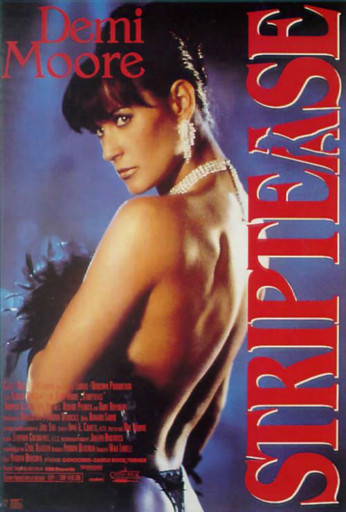 Striptease Poster
