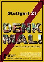 Stuttgart 21 - Denk mal! Poster