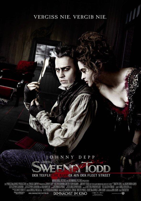 Sweeney Todd - Der teuflische Barbier aus der Fleet Street Poster