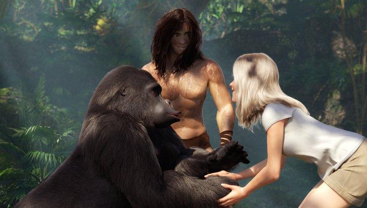 Tarzan 3D - Trailer Poster