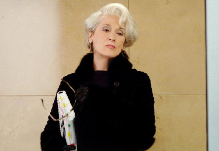 """Meryl Streep in """"Der Teufel trägt Prada"""" (2006) © Fox"""