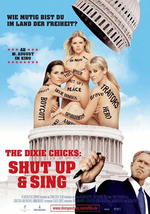 The Dixie Chicks: Shut Up & Sing Poster