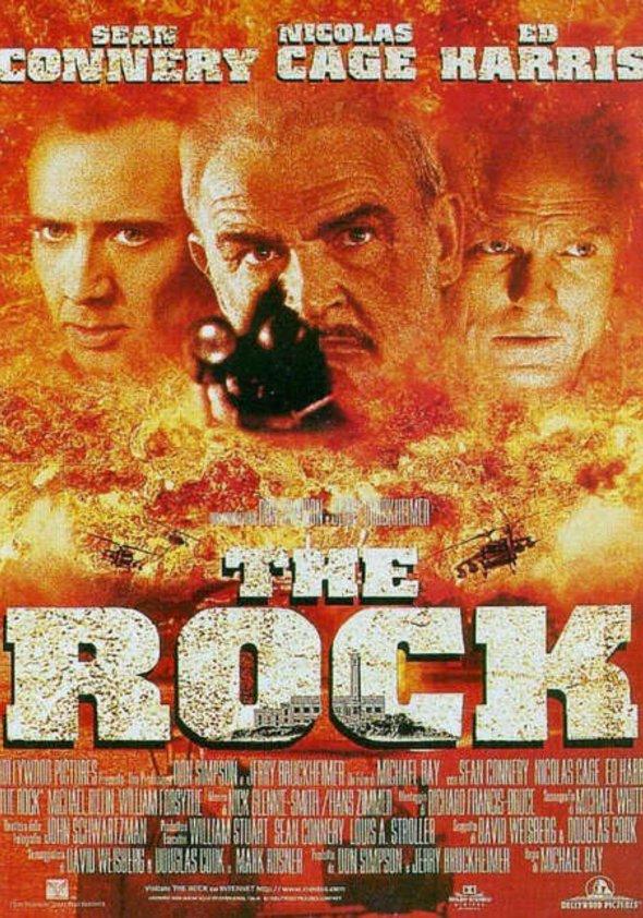 The Rock - Fels der Entscheidung Poster