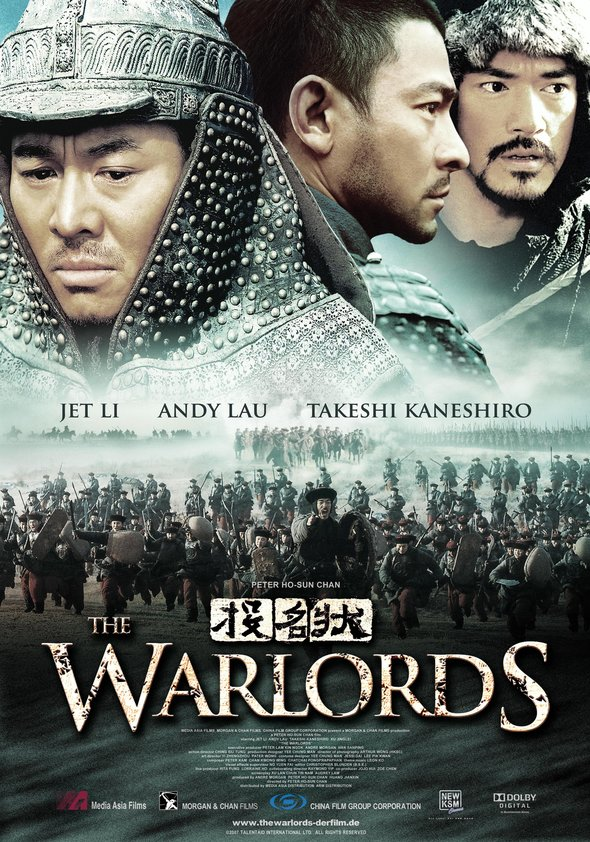 The Warlords Poster