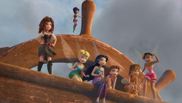 Tinkerbell und die Piratenfee - Trailer Poster