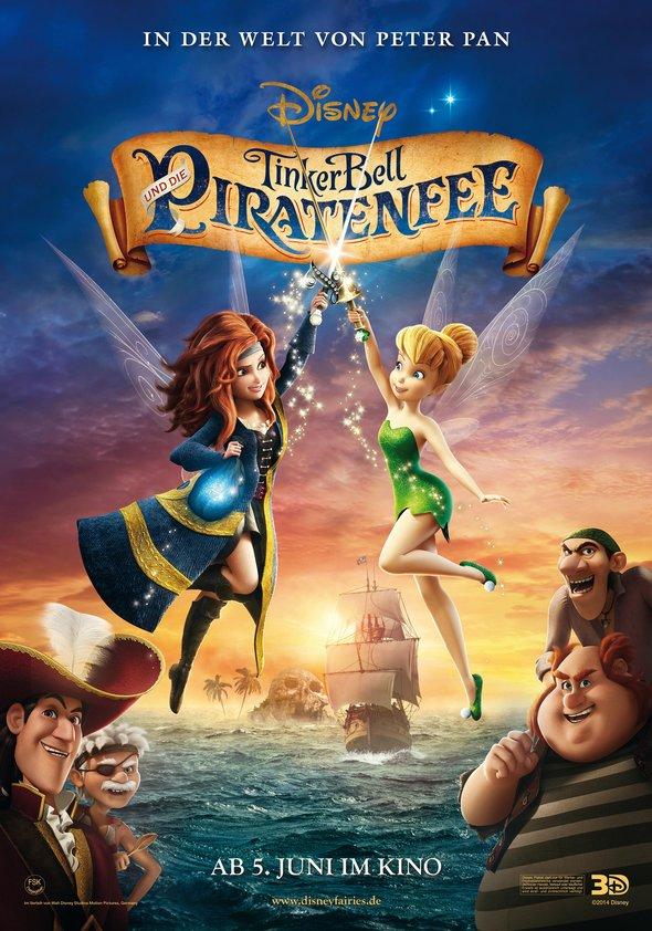 Tinkerbell und die Piratenfee Poster