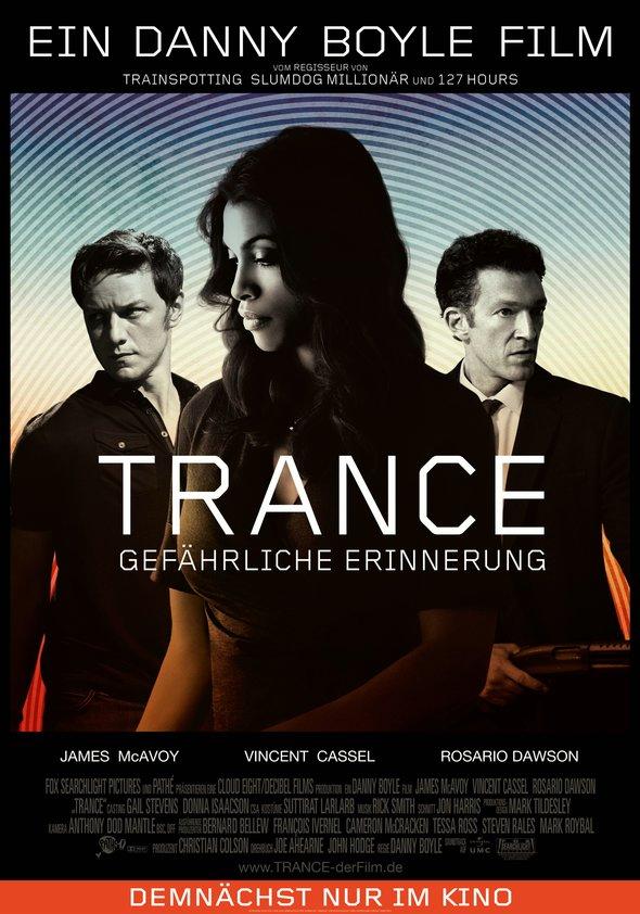 Trance - Gefährliche Erinnerung Poster