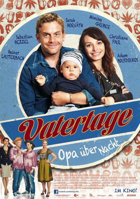 Vatertage - Opa über Nacht Poster
