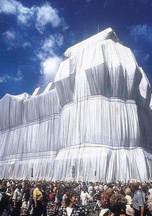Verhüllter Reichstag 1971 - 1995