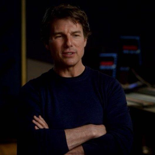 Tom Cruise (Ethan Hunt) über die Arbeit mit Simon Pegg - OV-Interview Poster