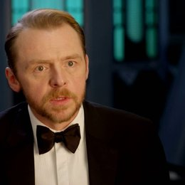 Simon Pegg (Benji Dunn) über Regisseur Christopher McQuarrie - OV-Interview Poster
