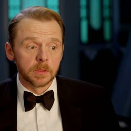 Simon Pegg (Benji Dunn) über drehen in Wien - OV-Interview Poster