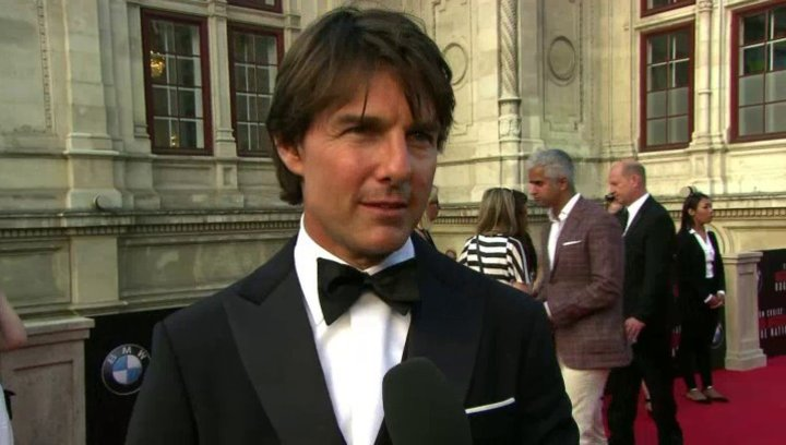 Weltpremiere Interview Tom Cruise - Ethan Hunt, Produktion - Sonstiges Poster