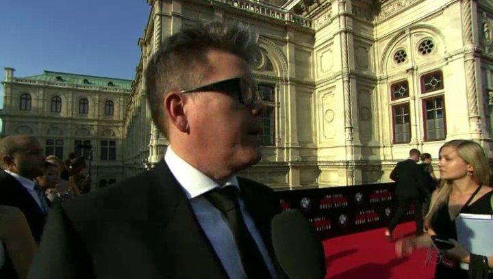 Weltpremiere Interview Christopher Mc Quarrie - Regie - Sonstiges Poster