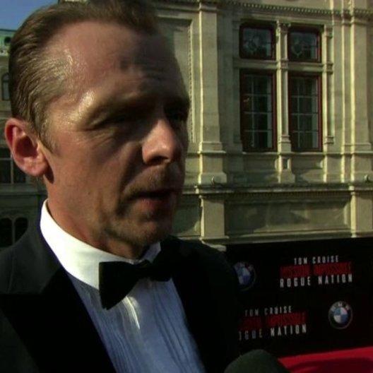 Weltpremiere Interview Simon Pegg - Benji Dunn - Sonstiges Poster